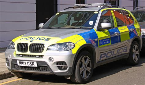 43 Bmw X5 London Metropolitan Police Car