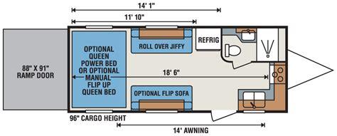 cyclone 5th wheel hauler floor plans 2016 cyclone hauler floor plans carpet vidalondon