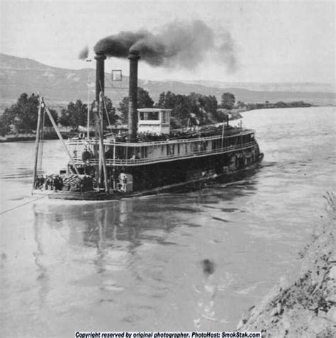 Steamboat Tebet by Industrial Revolution Steam Boat