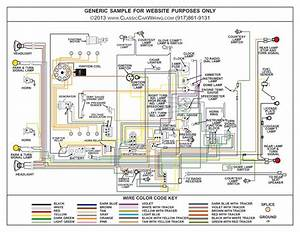 1949 Plymouth Car Color Wiring Diagram