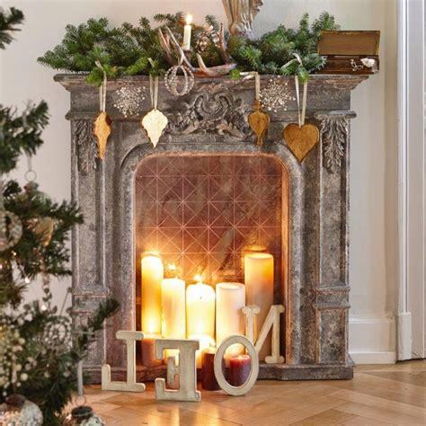 kaminkonsole fuer weihnachten selber bauen deko feiern