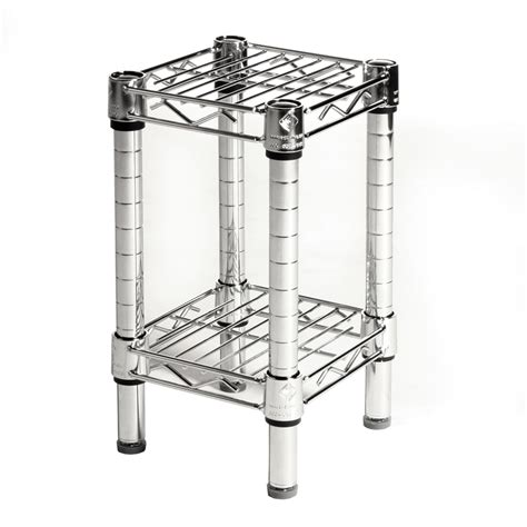 Wire Shelving by 8 Quot Depth Wire Shelving Unit With 2 Shelves Shelving Inc