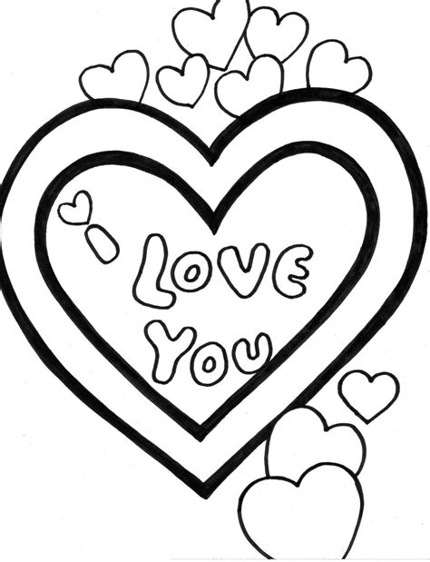 By best coloring pagesjanuary 2nd 2019. I Love You Dad Coloring Pages | Free download on ClipArtMag