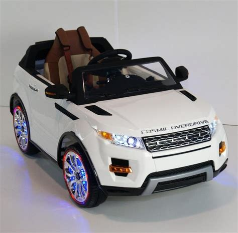 car toys wheels luxury range rover style 12v kids ride on car leather seat