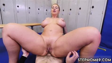 the real workout blonde dominant milf gets a creampie