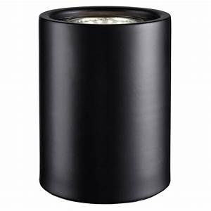 Small and contemporary matt black led table floor lamp for Small uplighter floor lamp