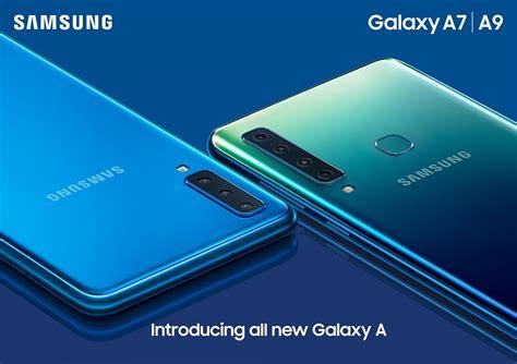 samsung galaxy a9 2018 announced with rear cameras