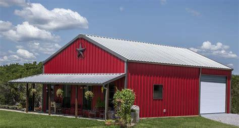 metal barn home plans mueller buildings custom metal steel frame homes 7447