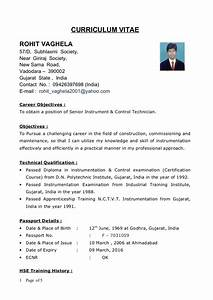 diploma resume format it resume cover letter sample With resume format for diploma mechanical engineer experienced