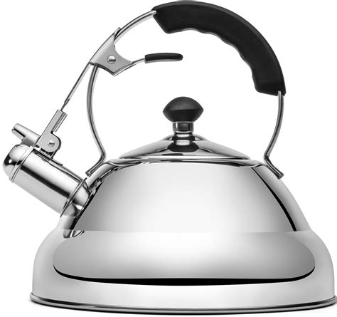 kettle whistling tea stove steel stainless stovetop gas induction teapot pot rated whistle amazon rust premium infuser teakettles copper resistant