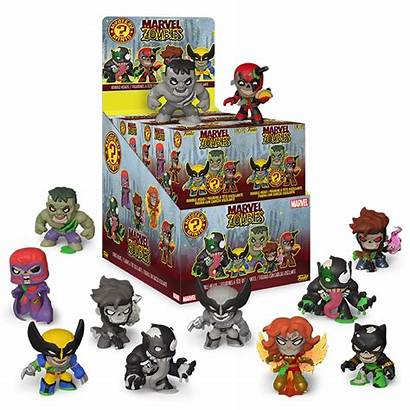 Marvel Zombies Blindbox Mystery Minis Figurky Heroes