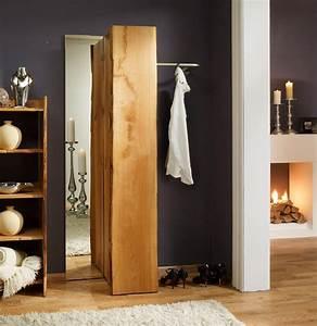 Garderobe Eiche Massiv Geölt : wandgarderobe eiche woodline massiv f r flur g nstig ~ Watch28wear.com Haus und Dekorationen