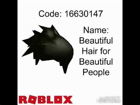 So these are some of the beautiful roblox hair codes for boys and girls. Roblox High School - Hair Outfit Codes / Part 1 - YouTube