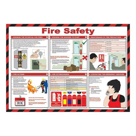 fire safety posters mm  mm  key signs uk