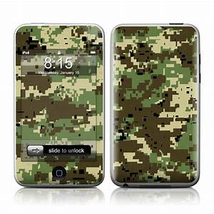 Digital Woodland Camo iPod touch 2nd Gen or 3rd Gen Skin ...