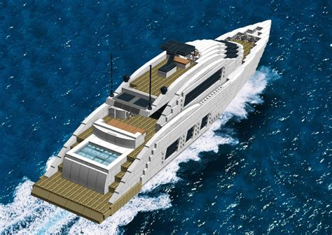 How To Make A Lego Minecraft Boat by Lego Ideas Luxury Sport Yacht