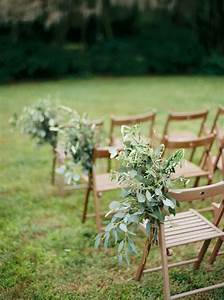 11 creative ways to use greenery in your wedding tulle With outdoor wedding aisle decor