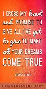 George Strait -... Heart Lyrics Quotes