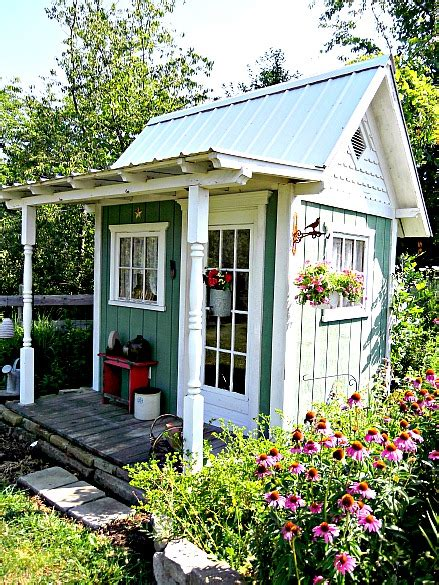 What Old New The Garden Shed Cottage Charm