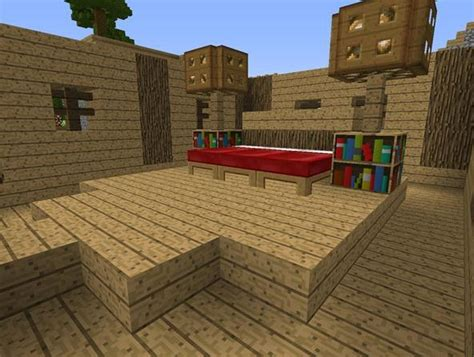 bed design minecraft home decoration live