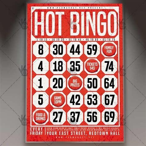 bingo premium flyer psd template psd templates bingo