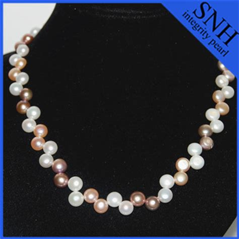 pearl color meaning multi color pearl necklace meaning with sterling sliver