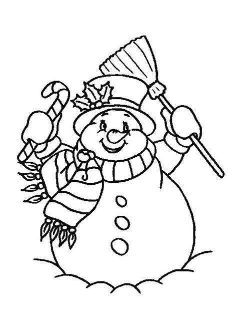Kleurplaat Hoed Sneeuwman by Tekeningen Sneeuwman Zoeken Nieuwjaar