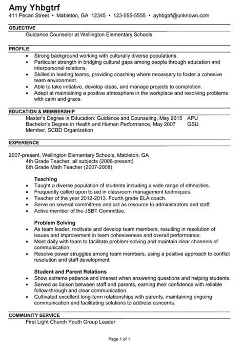 membership counselor resume exle 24 sle counselor resume jennywashere com