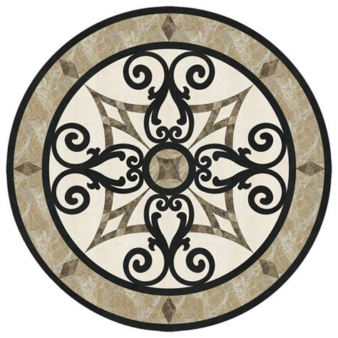 entryway tile medallions marble medallion for entryway