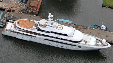 superyacht global extended    luerssen refit boat