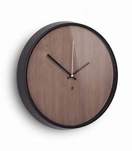 Horloge Murale Bois : horloge murale design en bois madera umbra ~ Teatrodelosmanantiales.com Idées de Décoration