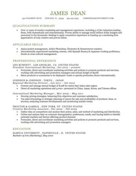 quotes summary for resume quotesgram
