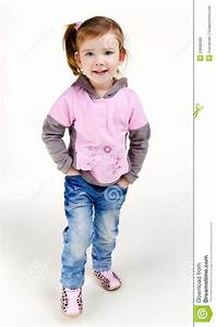 Little Girl Jeans Clipart - Clipart Suggest