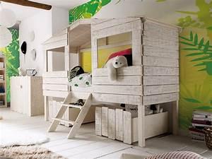 Kinderbett Haus 90x200 : kinderbett safari zuk nftige projekte pinterest kinderbetten kinderzimmer und ideen f rs ~ Indierocktalk.com Haus und Dekorationen