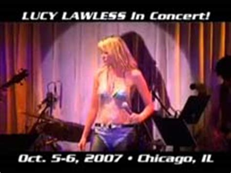 chicago the band fan club lucy lawless at the canal room 2007