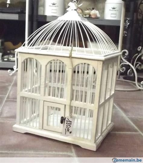 chambre style asiatique cage oiseau bois deco visuel 7