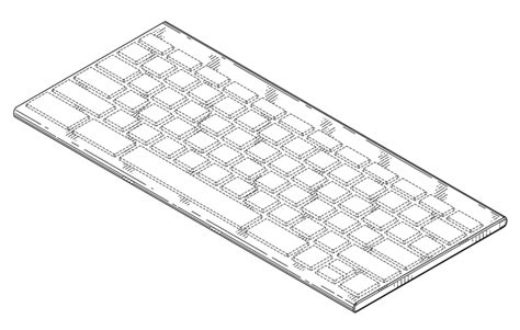 patent usd keyboard   mobile computing device