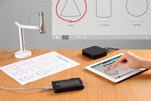 ipevo design for learning With ipad document camera