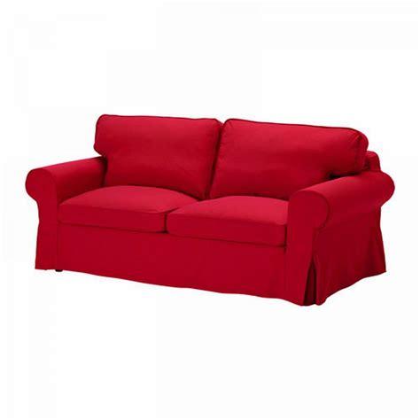 Ikea Ektorp Sofa Bed Slipcover Cover Idemo Red Sofabed Cvr