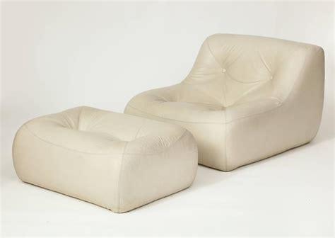 ligne roset vintage white leather set michel ducaroy kali