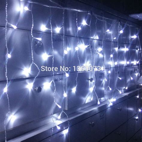 aliexpress com buy 4 0 6m 96 led fairy string curtains