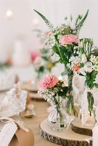 Holzscheiben Deko Hochzeit : tischdekoration mit baumscheiben so geht 39 s fr ulein k sagt ja hochzeitsblog ~ Frokenaadalensverden.com Haus und Dekorationen
