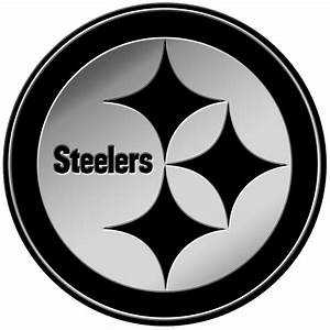 Pittsburgh Steelers 3D Chrome Auto Emblem (RICO)