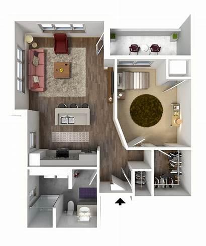 Floor Luxury Plans Apartments Studio Bed Madison