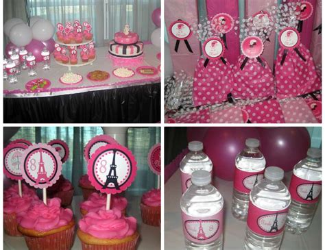 pink poodle  paris birthday pink poodle  paris