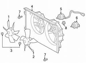 Toyota Celica Engine Cooling Fan Blade  Celica  Left  Mr2