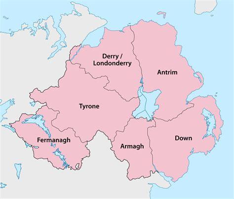 counties  northern ireland wikipedia