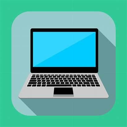 Laptop Icon Flat Icons Laptops Vector Freevectorsite