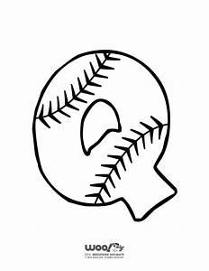 baseball alphabet letter q woo jr kids activities With baseball alphabet letters
