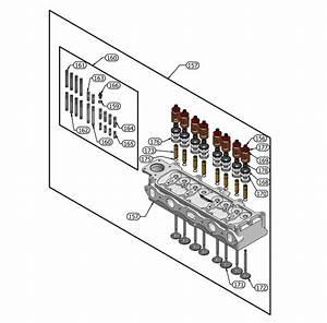 4 Cylinder Engine Diagram 3 View